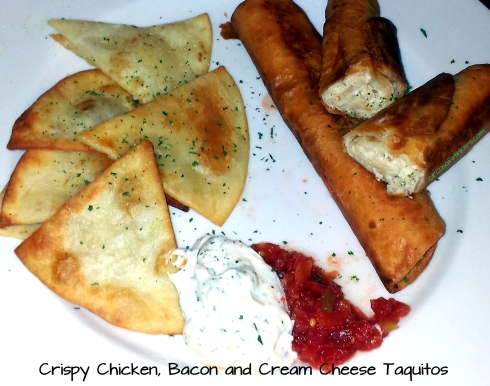 Criaspy Chicken Bacon and Cream Cheese Taquitos Recipe www.circusofstiners.com